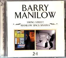 Barry Manilow: 2-LP Albums On 1 CD (Swing Street & Sings Sinatra) 2on1