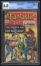 Fantastic Four #27 CGC 6.0 (Marvel 6/64) 1st Doctor Strange crossover