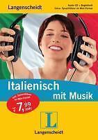 HÖRBUCH  -  Langenscheidt Italienisch lernen mit Musik  -  CD+BUCH