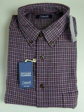 Roundtree & Yorke Casuals Douro Soft Portuguese Flannel Plaid Shirt NWT $49-58