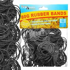 Strong Elastic Rubber Bands Assorted Size for Home School Office 80g 400 pcs