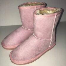Apres by Lamo Calais Girl Boot Ak 1603 Pink Warm Size 12Y Faux Fur Lining