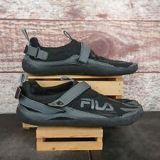 Fila Skele-toes 5 Toe Black Gray Shoes Mens Sz 10 See Description