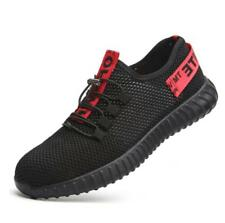 Mens Womens Lightweight Steel Toe Safety Shoes Work Sandals Mesh Sneakers Shoes