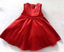 H&M Kleid Gr.98 rot Festkleid Mädchen Hello Kitty TOP