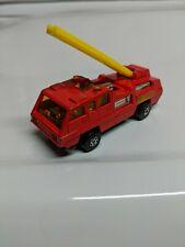 Matchbox Lesney Superfast No. 22 Blaze Buster Fire Engine Red 1975 England