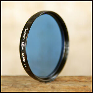Genuine Canon 52mm CCB12 Blue Colour Correction filter