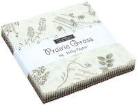 """Prairie Grass Moda Charm Pack 42 100% Cotton 5"""" Precut Fabric Quilt Squares"""