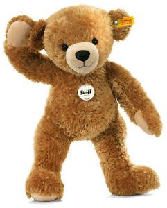 Steiff 'Happy' Teddy Bear - washable cuddly baby-safe soft toy - 28cm - 012662