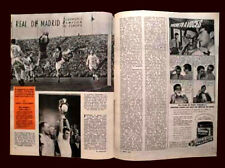 REAL MADRID Europe Champion 1959 ORIGINAL Magazine Argentina vs Stade de Reims