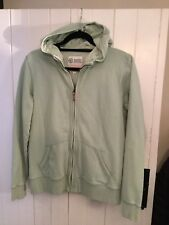 Ladies Fat Face Hoodie. Brown Pattern Print. Size 14 UK. Ex Condition
