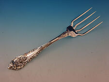 "Sir Christopher by Wallace Sterling Silver BBQ Serving Fork 7 3/4"" Custom Made"