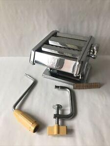 WL Pasta Machine Ampia Model 110mm-Deluxe Lasagne Tagliatelle Free UK P+P