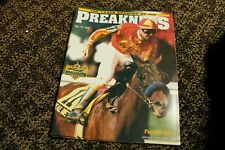 2 Preakness Programs 1999 Charismatic and 2000 - Red Bullet