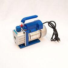 10 qty 3CFM Rotary Vane Vacuum Pump Single Stage HVAC 1/4HP Air Conditioning A/C