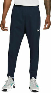Nike PRO Flex ZIP PHONE POCKET Men's Training Trousers Men's Size M Obsidian