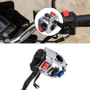 "1Pair 7/8""(22mm) Universal Handlebar Horn Turn Signal Light Start Control Switch"