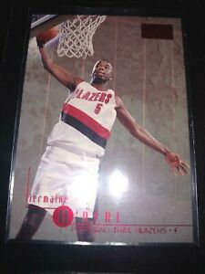 1996-97 Skybox Jermaine O'Neal Premium Red Ruby Rookie #94 Trail Blazers RC