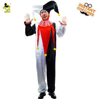 Men's Jingles the Super Clown costume New Adult Halloween Funny Clown cosplay