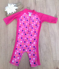 TU UV-Sun Suit Swimwear (0-24 Months) for Girls