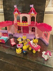 off brand  Little chunky  People Carry N Go Castle Pink with sounds