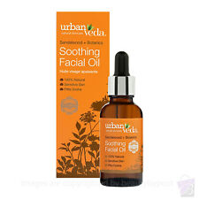 Urban Veda SOOTHING FACIAL OIL deep cleansing dry irritated sensitive skin 30ml