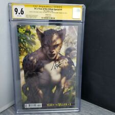 CGC Graded 9.6 DC's Year of the Villain Special #1 Signed 4x Artgerm Variant