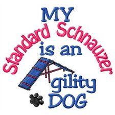 My Standard Schnauzer is An Agility Dog Short-Sleeved Tee - Dc2080L