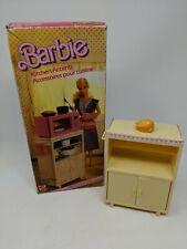 VINTAGE BARBIE KITCHEN ACCENTS SET, BOXED, MATTEL 1985