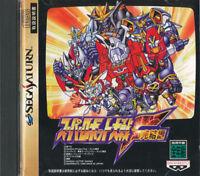 Super Robot Wars F Final  Sega Saturn Japan Import  Mint/ Near Mint