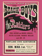 "The Beach Boys Portland 16"" x 12"" Photo Repro Concert Poster"