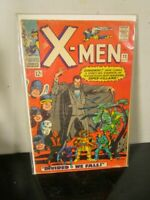 "Marvel Comics Group The X-men #22 ""Divided We Fall"" Count Nefaria~"