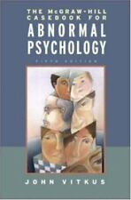 The Mcgraw-Hill Casebook in Abnormal Psychology by John Vitkus Paperback 5th