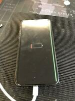 Genuine Original iPhone X Black line down LCD, LCD ONLY