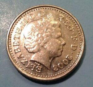 UK 5 Pence coin 2003