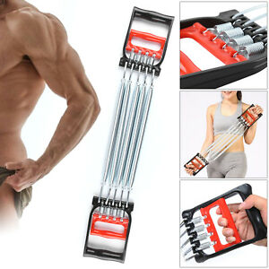 5 Spring Body Chest Expander Exercise Puller Muscle Stretcher Training Home Gym