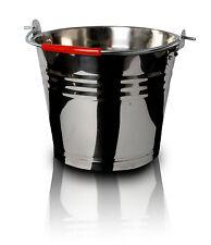 5 L Stahl Eimer mit Tragegriff Stahleimer Garteneimer Wasseimer Kübel Wasser
