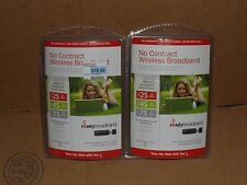 "2 SPRINT ""Ready Broadband"" No Contract USB Prepaid Mobile Wireless Internet"