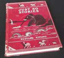 Rudyard Kipling: Just So Stories. Macmillan and Co., 1902. Reprint.
