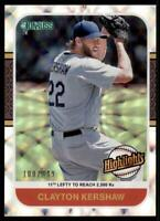 2021 Donruss Baseball Highlights Silver #11 Clayton Kershaw /349