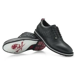 NEW G/Fore Mens Quilted Saddle Gallivanter Golf Shoes Onyx - Choose Your Size!