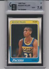 Reggie Miller 1988 Fleer #57 Rookie GAI 7.5 NM+ HOFer