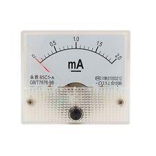 DC Analog Meter Panel 2mA  AMP Current Ammeters 85C1 0-2mA Gauge