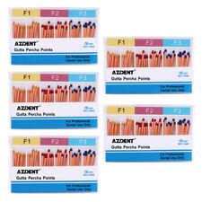 5 Boxes Dental Endodontic Obturating Gutta Percha Points F1 F2 F3 60pcspack