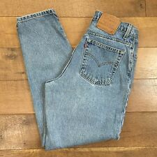 LEVIS Vintage 90s Womens High Waisted 551 Jeans Relaxed Fit Tapered Leg 12 MED