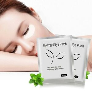100pcs Natural Hydrogel Eye Patch Under Eye Mask Gel Pads Skin Moisture Tighten