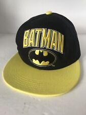DC Comics Batman Logo Snapback Adjustable Baseball Trucker Hat