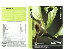 Les Mills Body Flow 45 Complete DVD, CD, Case and Notes