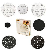 Mirka Microstar Disques Abrasifs Et Revêtement - Tailles Et Grain au Choix