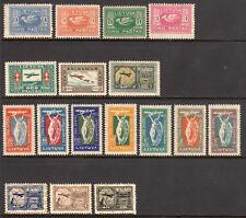 1921-1922 Lithuania Airpost Lot of 3 Sets - SC C1-C7, C8-C14 & C18-20 - MH Mint*